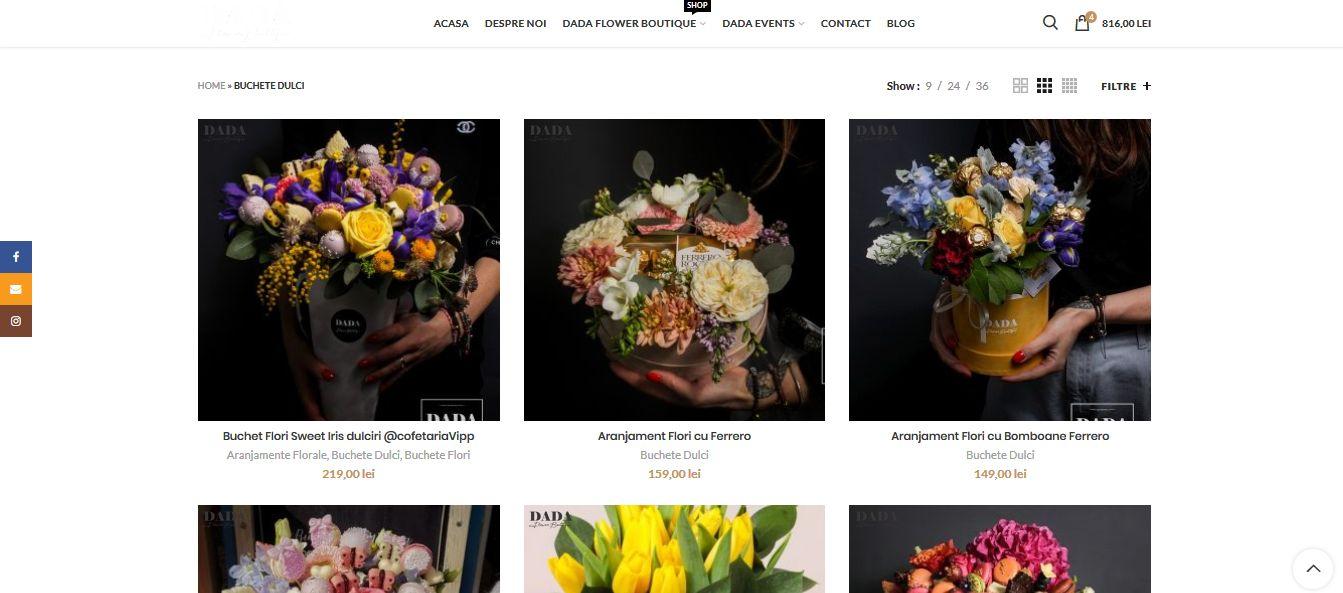 Cum comand din Florarie online Barlad