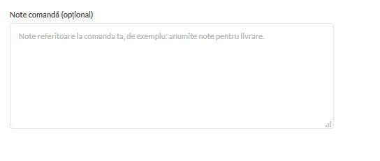 Faq Note de comanda Florarie Online
